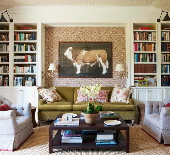 green-velvet-sofa-library-markham-roberts