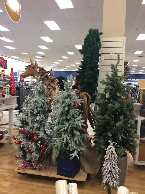 Holiday Decor Is Everywhere If I Didn T Have Enough To Open Up My Own Christmas Would Sned A Few Of These Beautiful Trees At 39 And 49