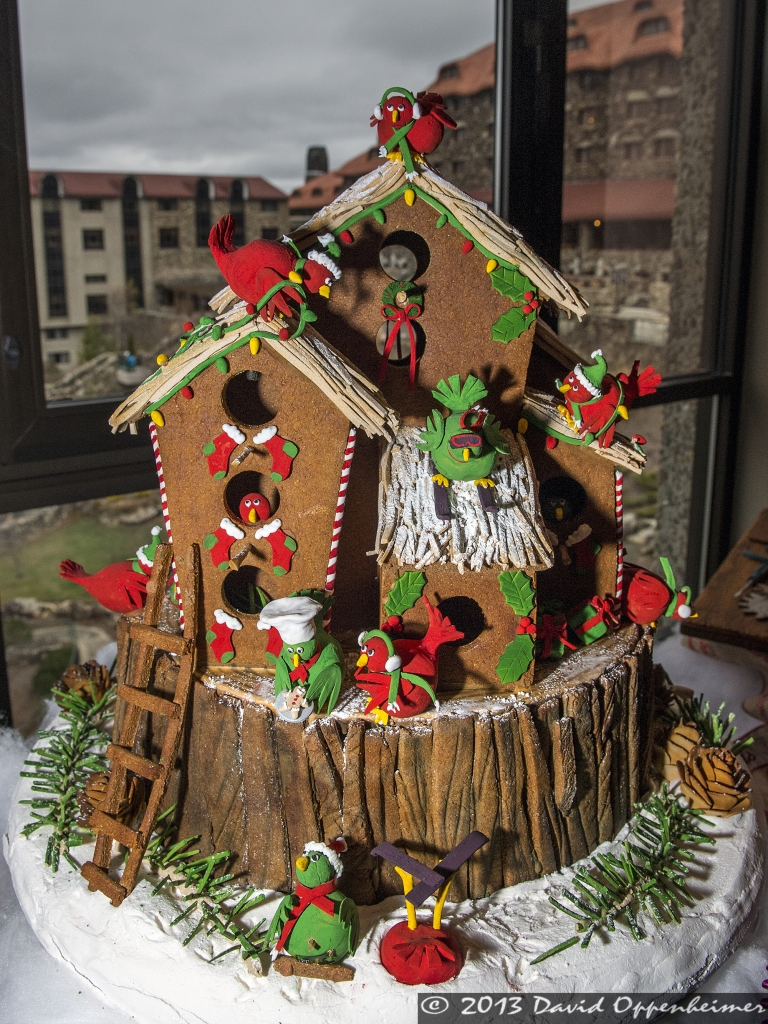 National Gingerbread House Competition at The Omni Grove Park Inn in Asheville, North Carolina - ? 2013 David Oppenheimer - Performance Impressions Photography Archives