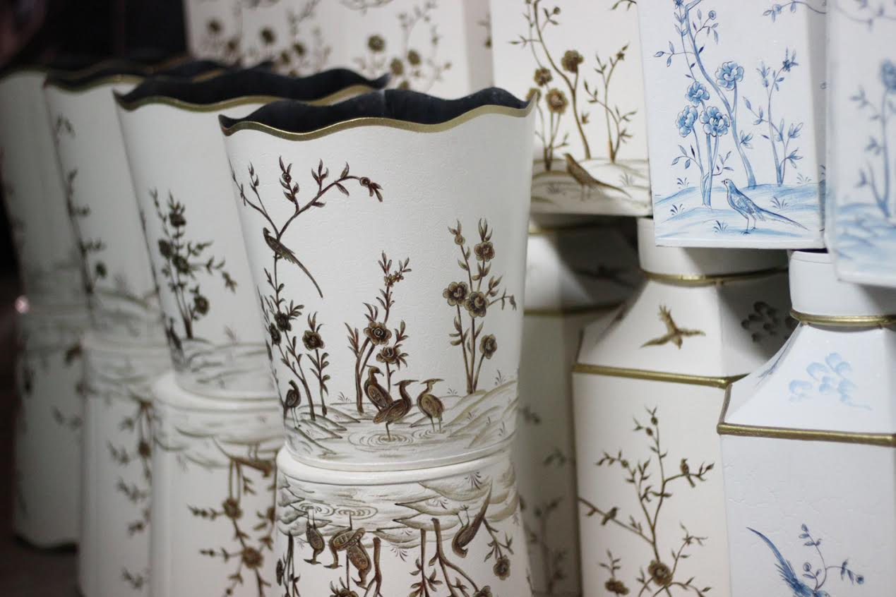 The one day chinoiserie tole and provence planter arrival - Planters contact provence ...
