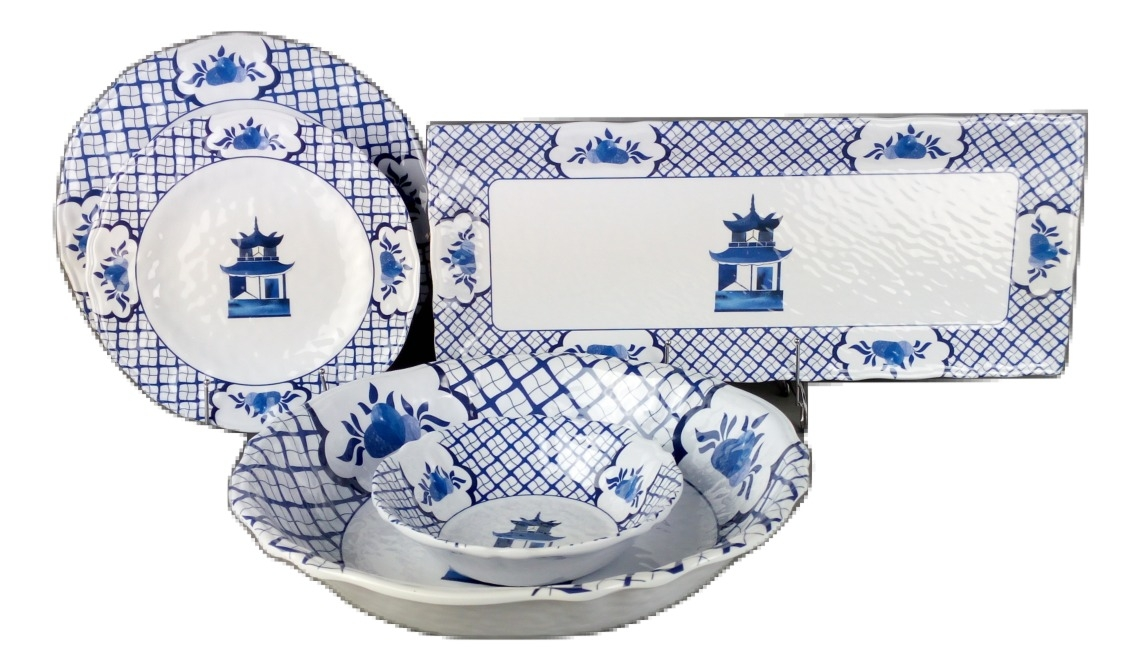 The  much anticipated  chinoiserie melamine dinnerware 2 day presale is on plus a giveaway!