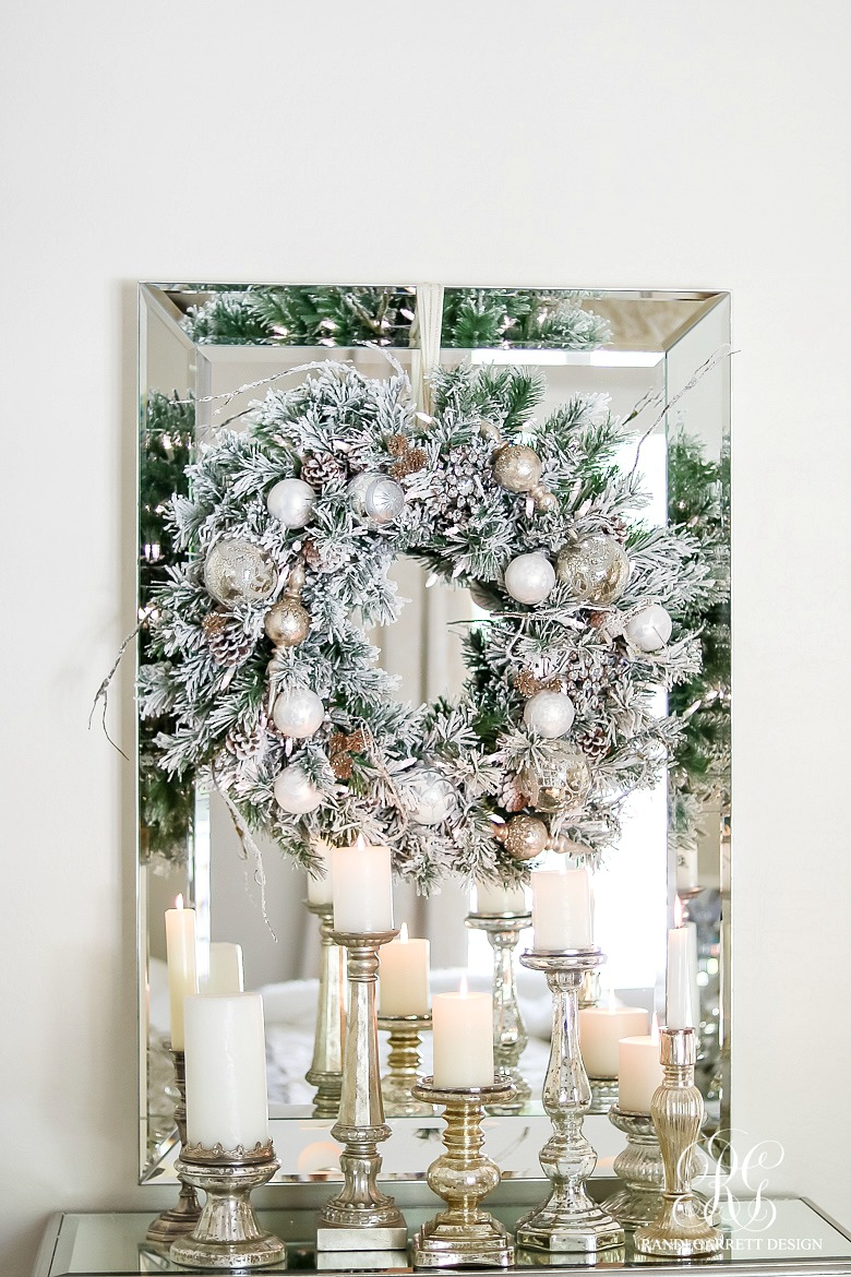 A winter white holiday the enchanted home for Classy xmas decorations