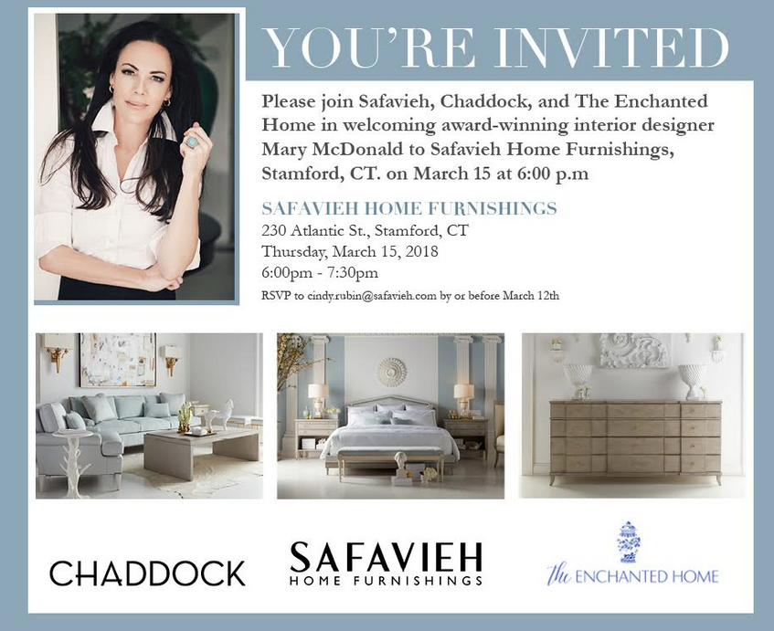 Want To Meet Mary Mcdonald You Are Invited The Enchanted Home