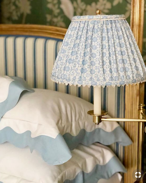 Design details- Fabric lampshades
