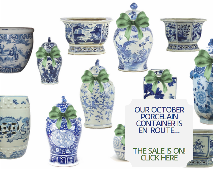 Our porcelain presale is on and a wonderful giveaway!