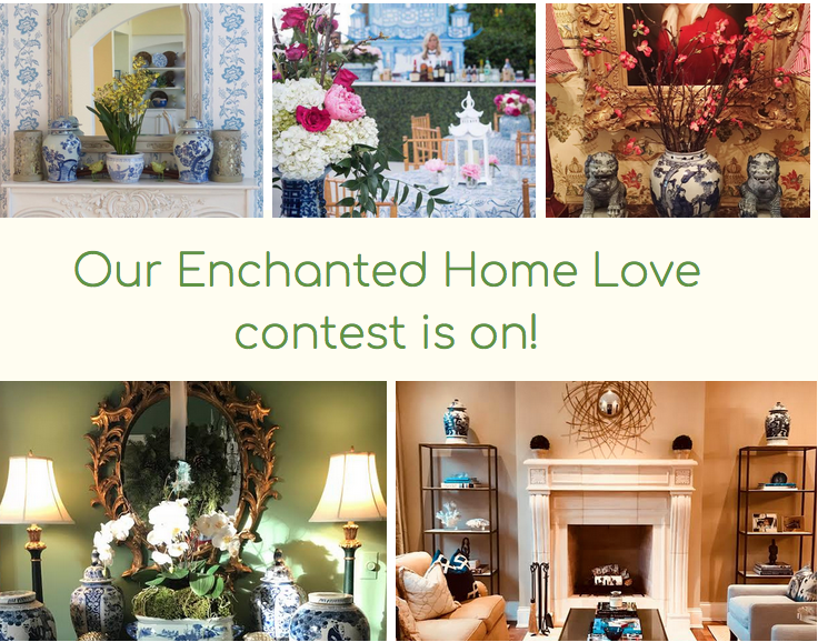 Last day to send in your pictures for the Enchanted Home Love contest!