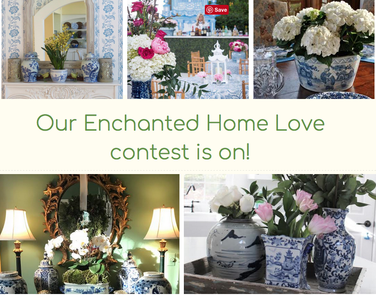 Announcing a new Enchanted Home Love contest!