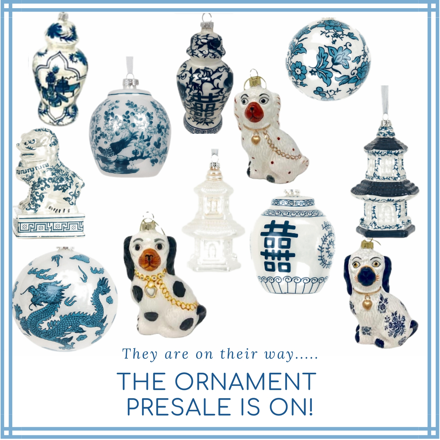 The much anticipated 2018 ornament presale is on and a giveaway!