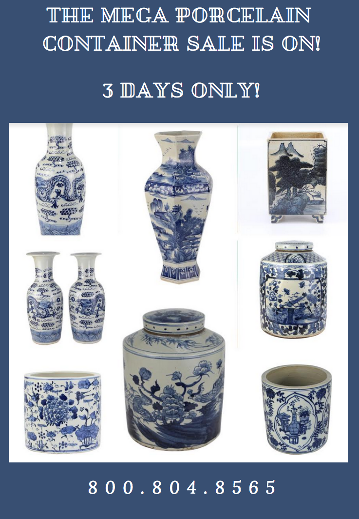 The mega December porcelain presale is on- our biggest yet plus a giveaway!