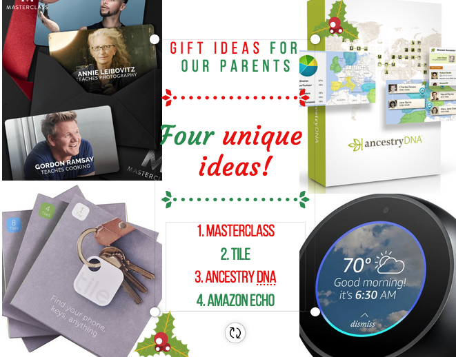 Gift Ideas 101 (parents)
