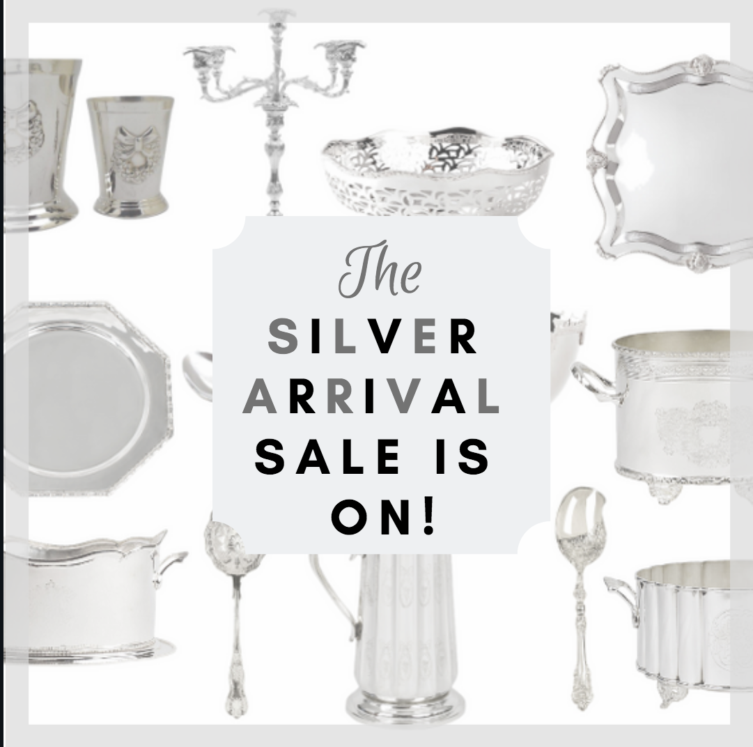 Our incredible silver arrival sale is on and a fabulous giveaway!
