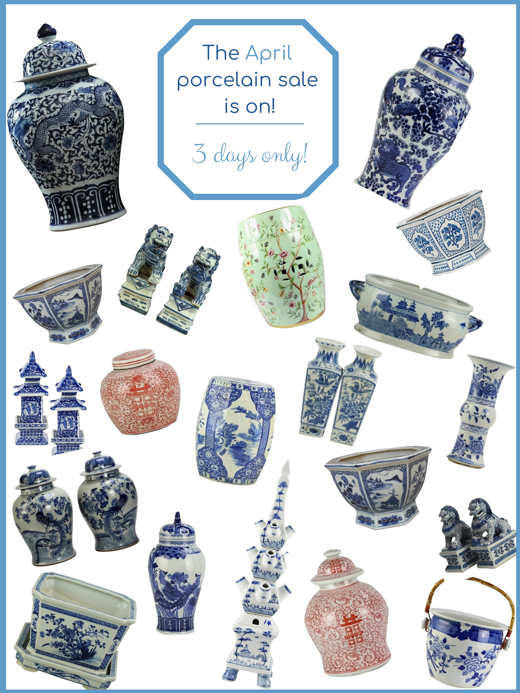 cdbaa71278d1ce Our beautiful porcelain presale for our April container is on and a  giveaway!