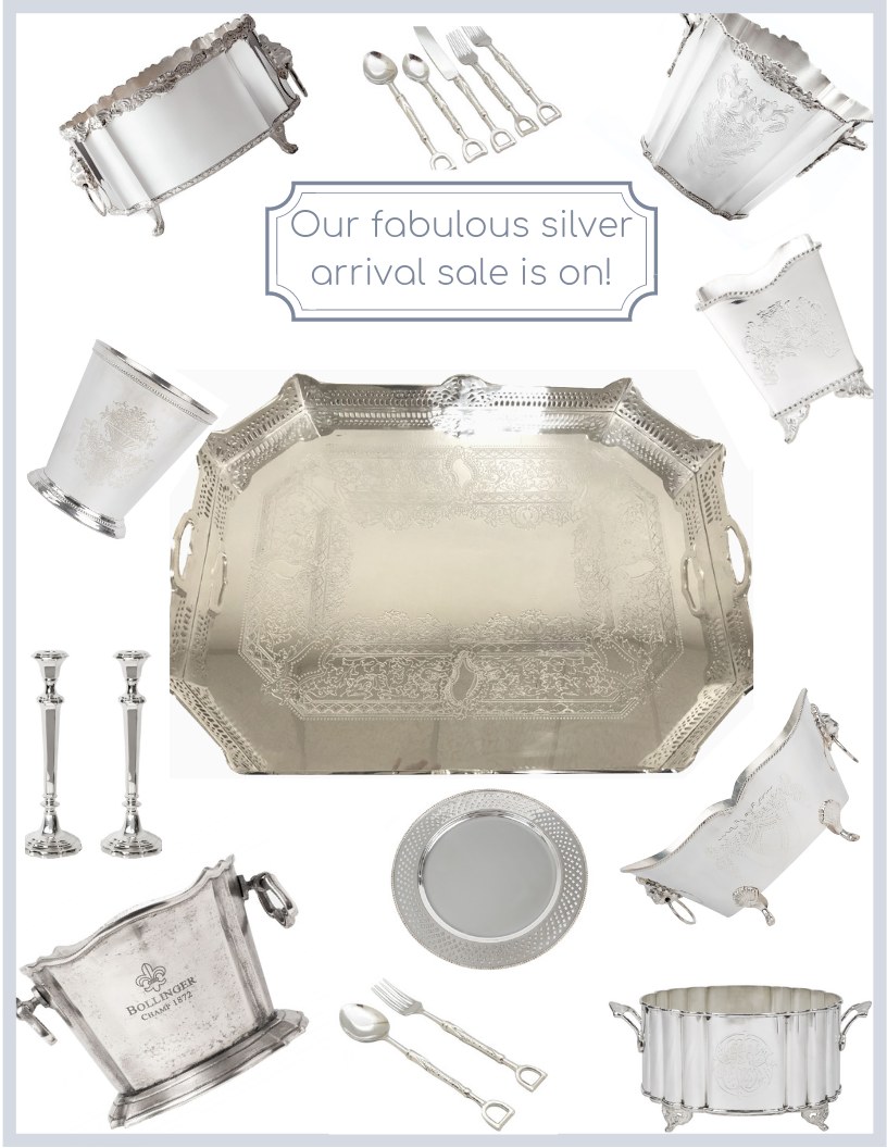 Our silver arrival sale is on and a special giveaway!