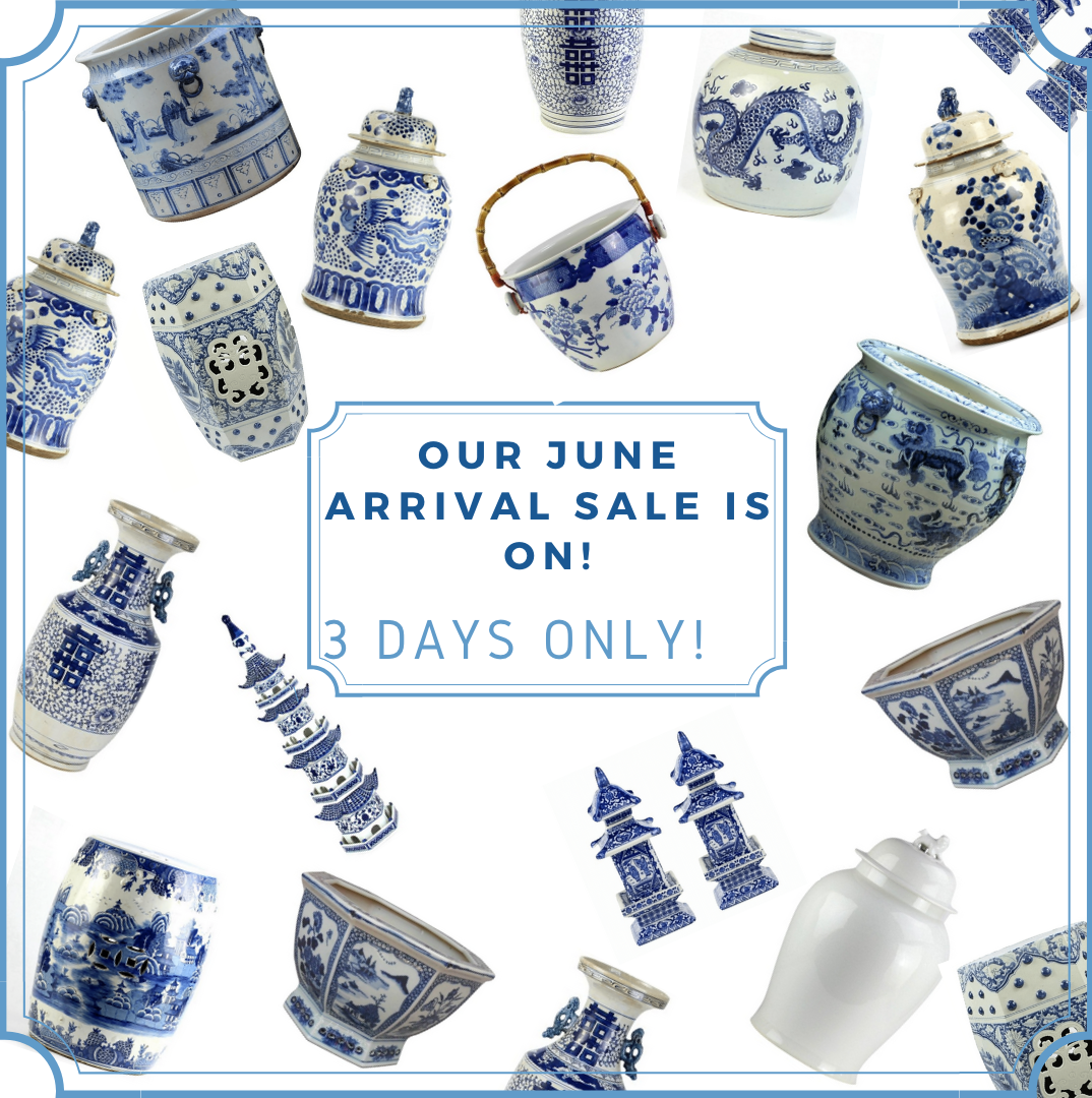 Arrival sale for our mega June porcelain container- our biggest yet plus a giveaway!