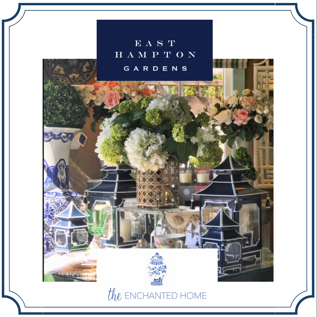 Step inside my first pop up shop at East Hampton Gardens!