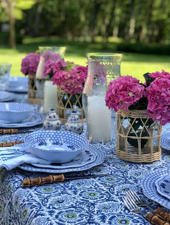 A favorite alfresco table……