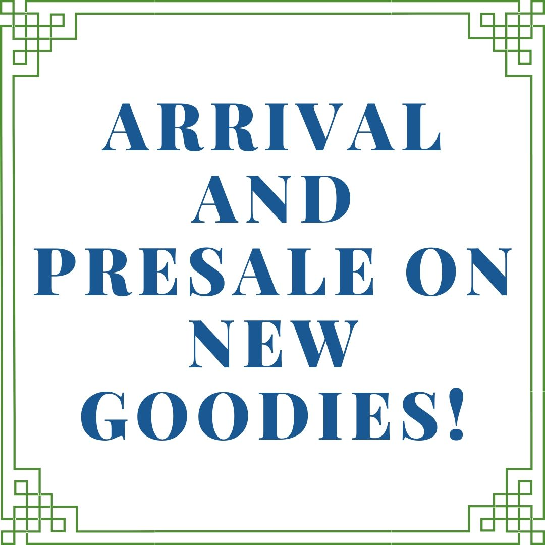 A beautiful presale and arrival sale on new and very exciting goodies plus a giveaway!