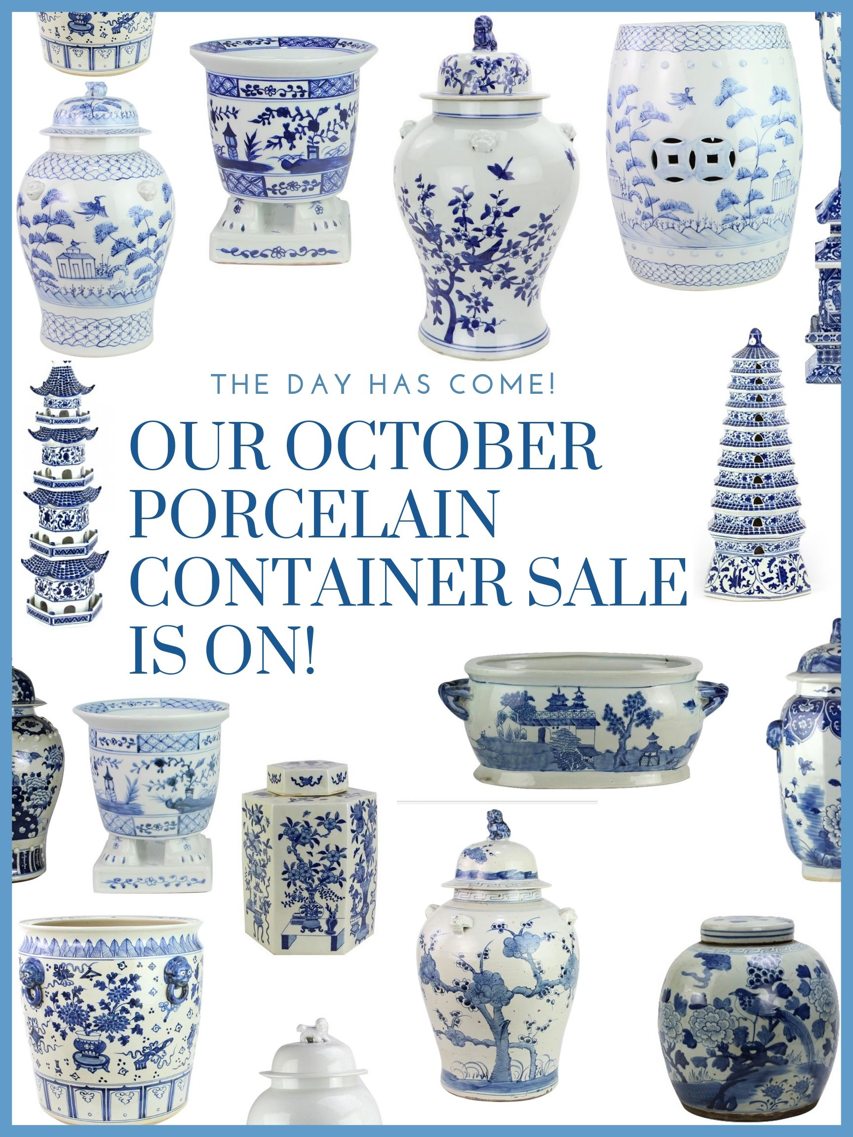 The October porcelain container is on plus a giveaway!