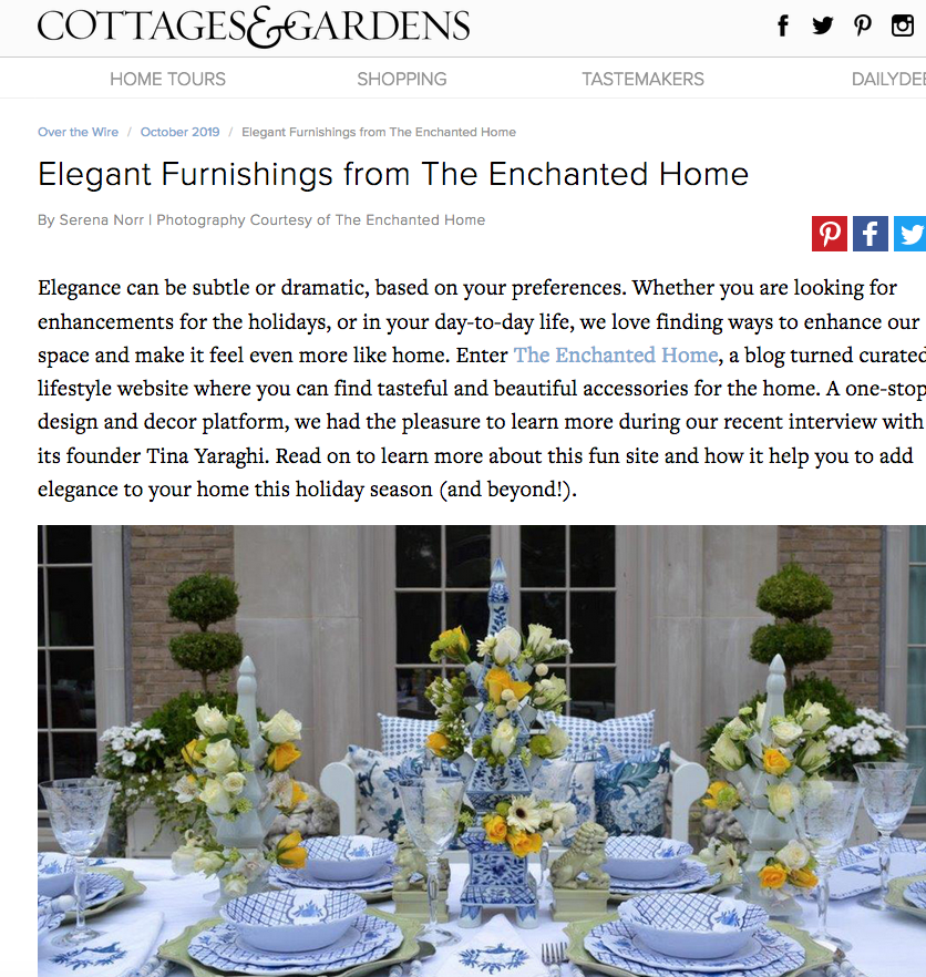 The Enchanted Home Blog