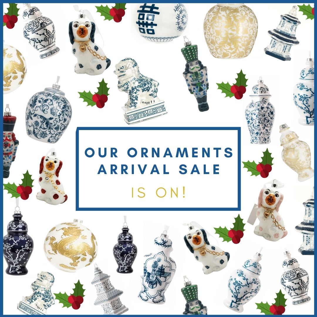 Our Ornaments arrival sale is on!