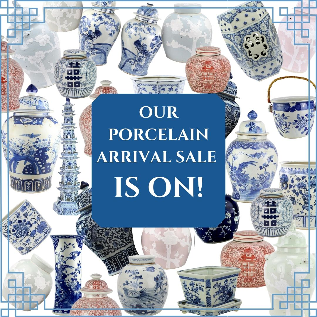 THE FEBRUARY PORCELAIN CONTAINER ARRIVAL SALE IS ON!