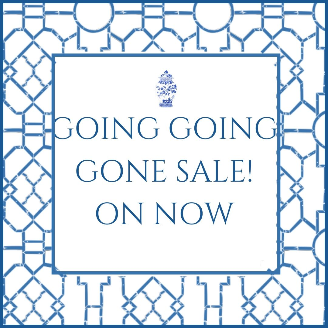Going, going gone sale!