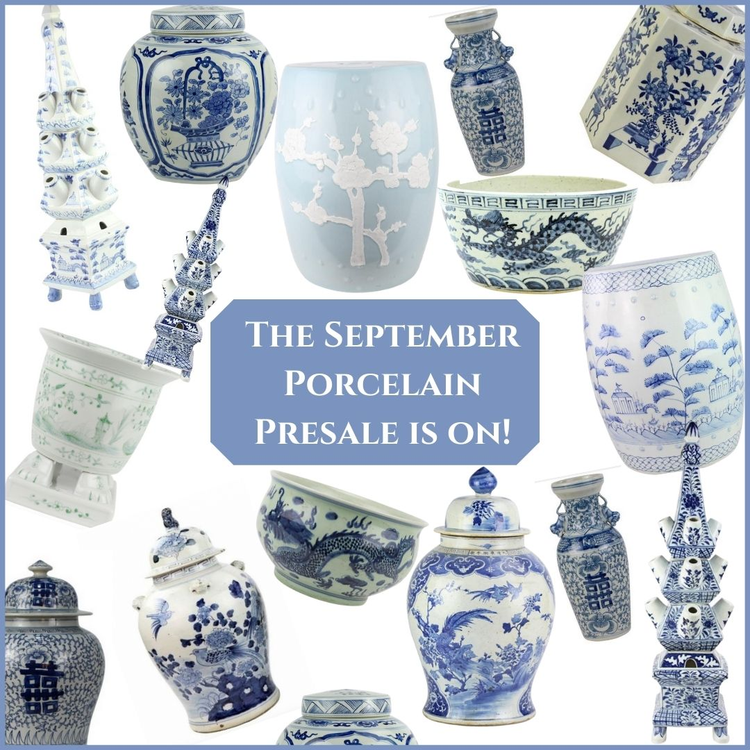 Our September porcelain presale is on!