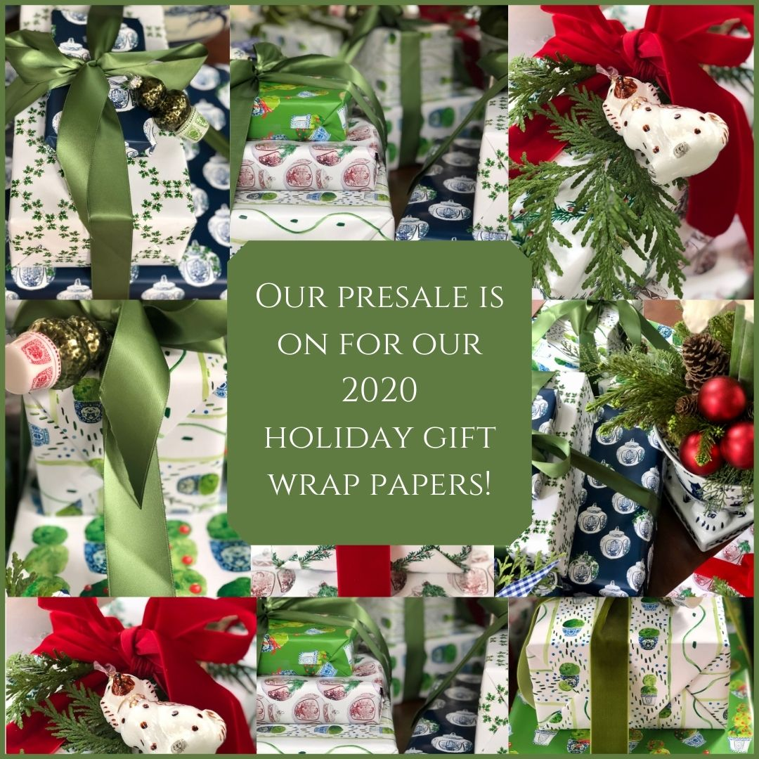 Our incredible 2020 holiday gift wrap presale is on and a giveaway!