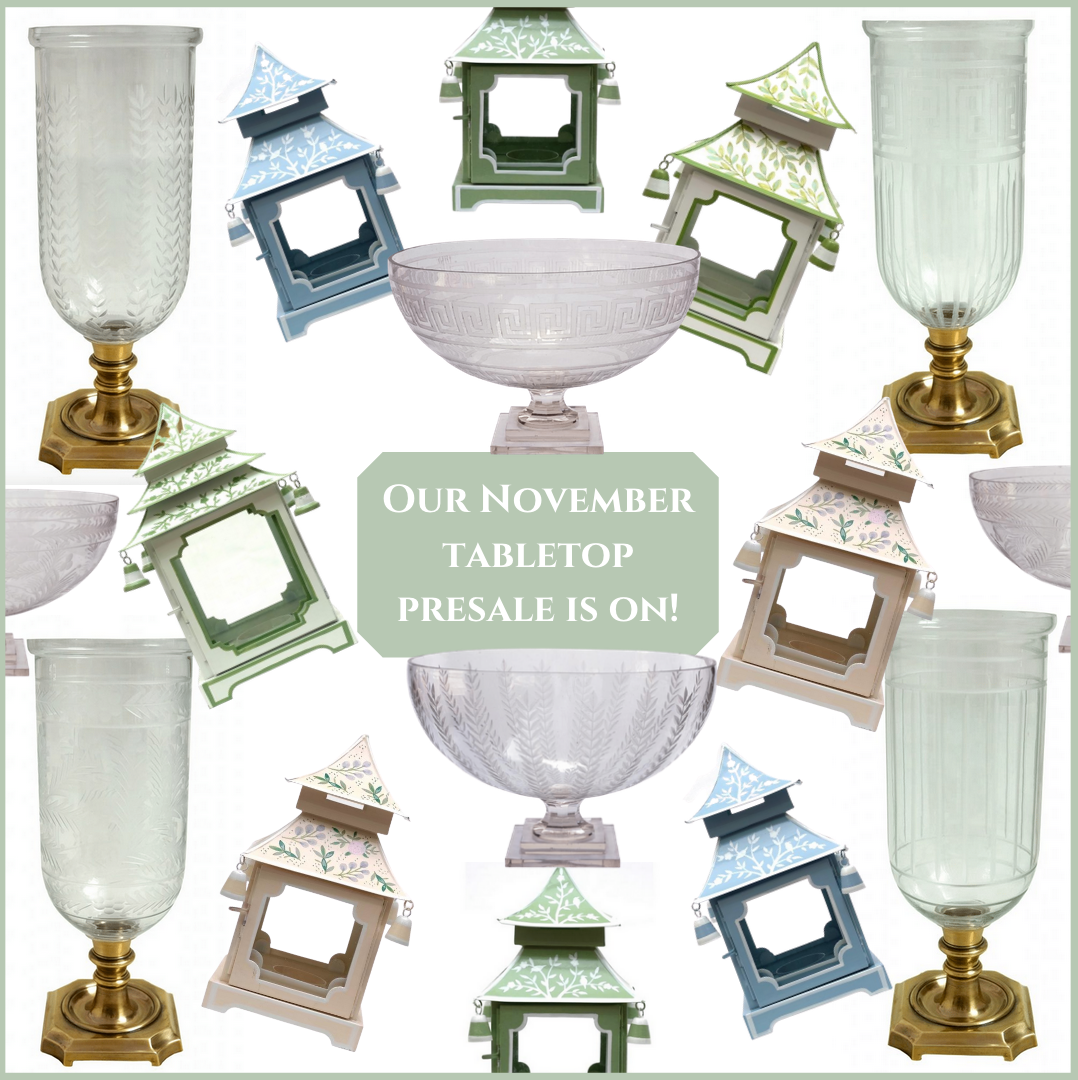 Our incredible presale is on for our November tabletop container!