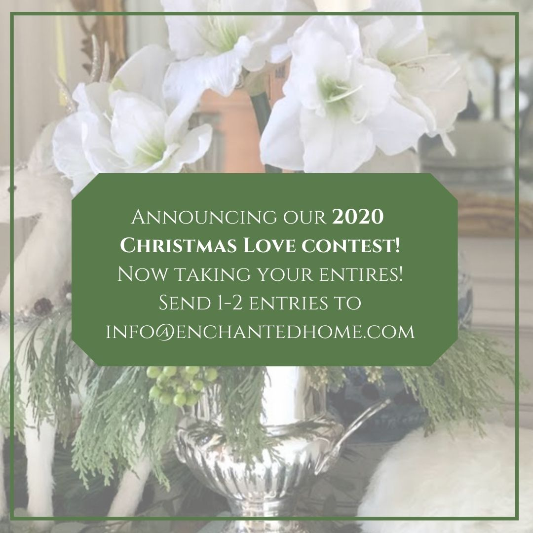Now taking entries for our 2020 Holiday Love contest!