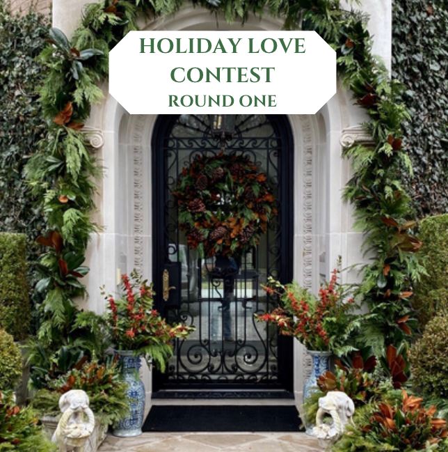 Round one of our Holiday Love Contest is on!