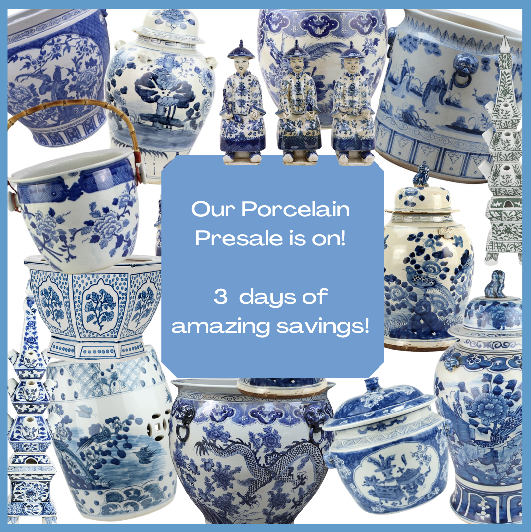 Our biggest porcelain container presale to date is on and a giveaway!