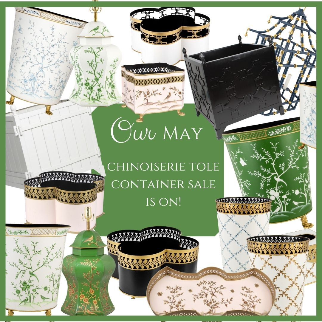 Our May chinoiserie presale is on and a fabulous giveaway!
