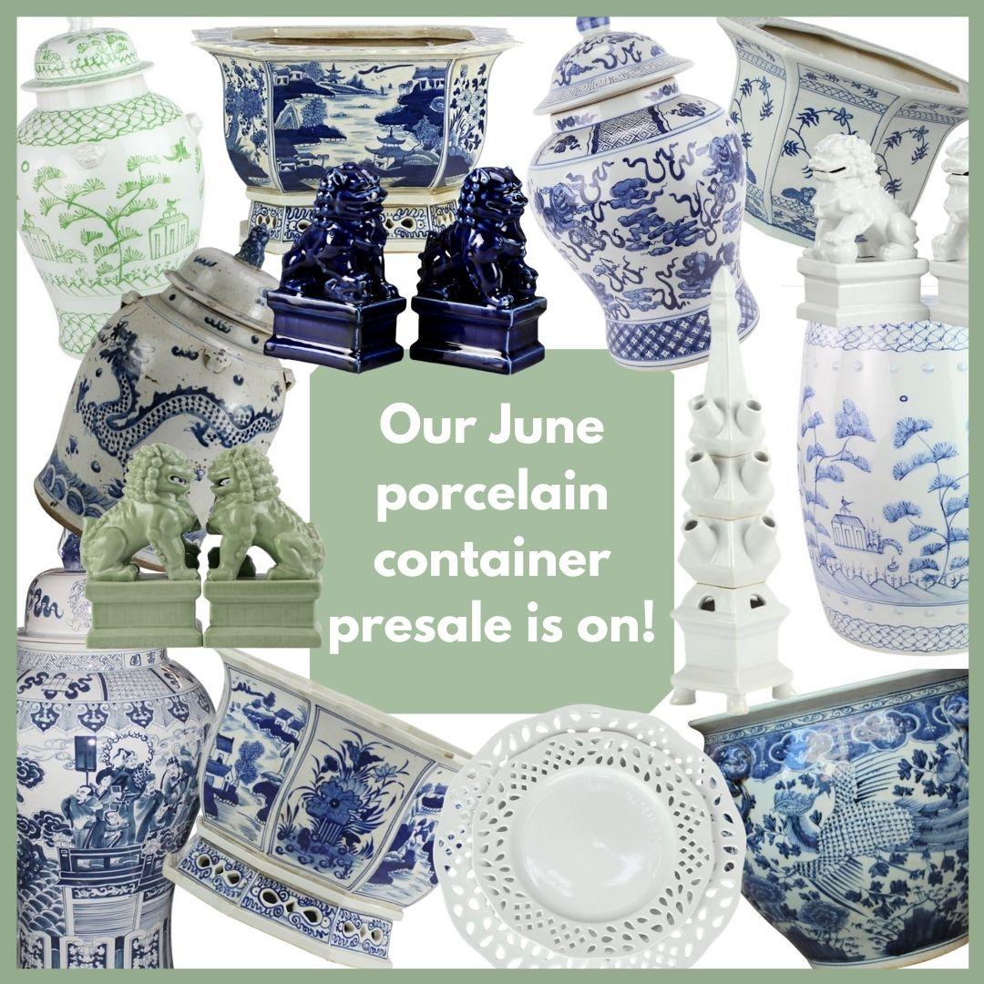 Our June MEGA porcelain presale is on!