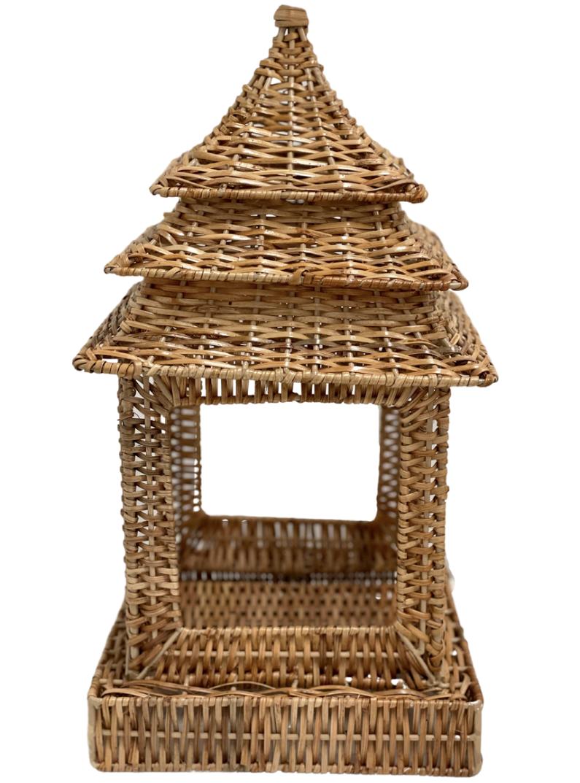 Fabulous large wicker pagoda