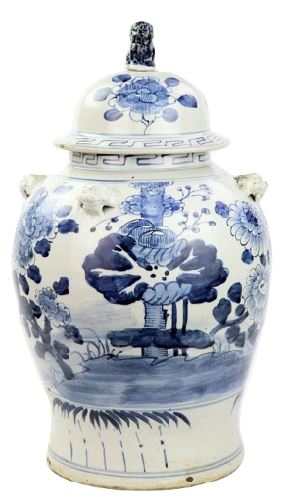 Fabulous new lily pad ginger jar