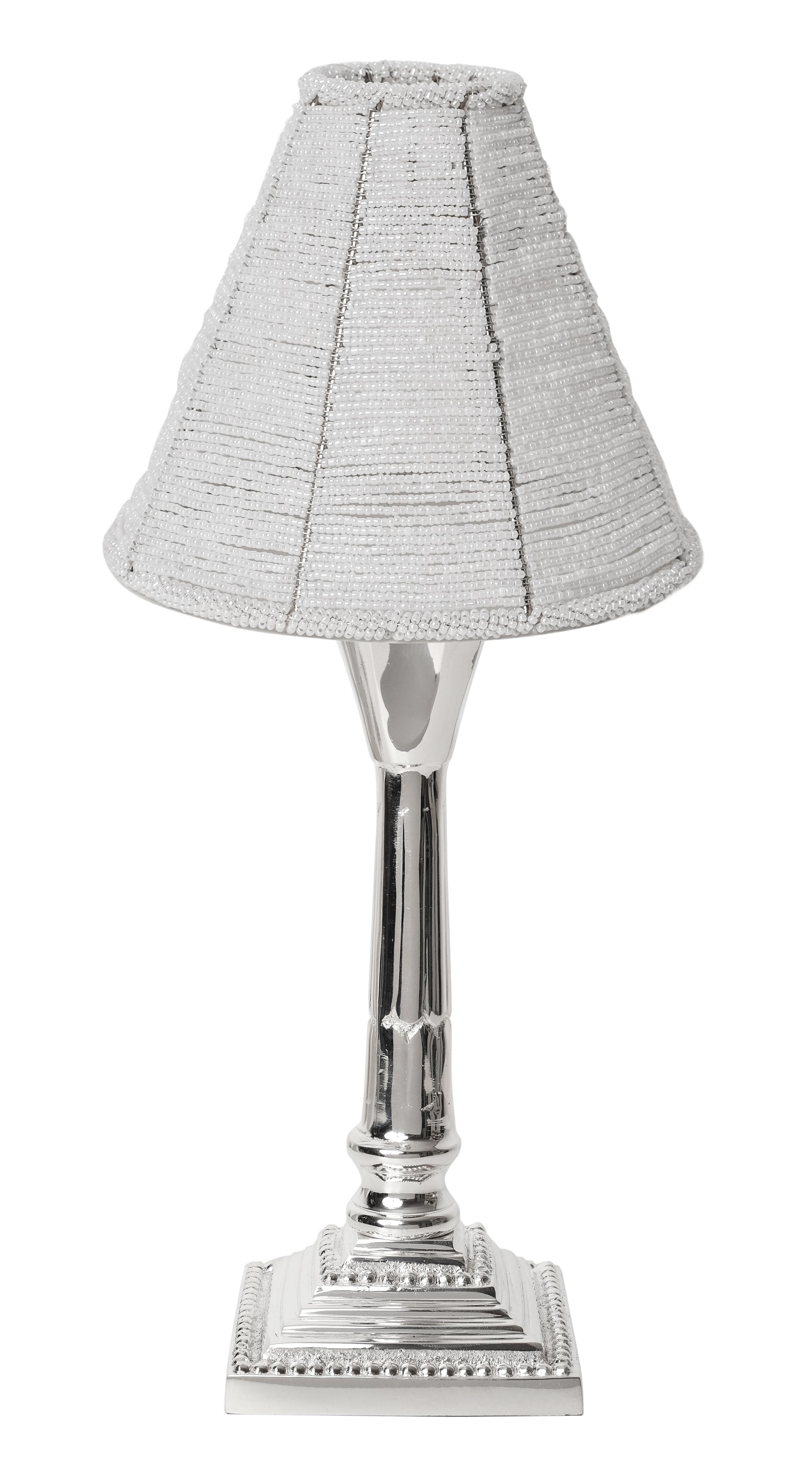 Amazing Beaded Tabletop Lamp