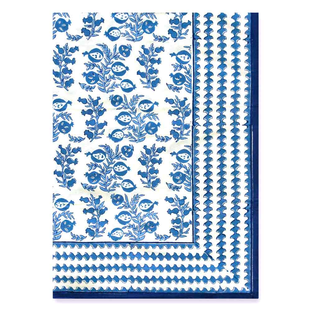 Stunning new Blue Belle tablecloth
