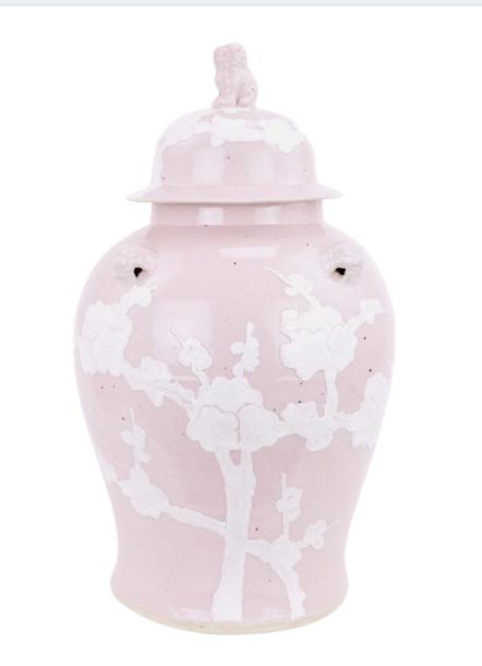 Incredible new pastel ginger jar in pale pink