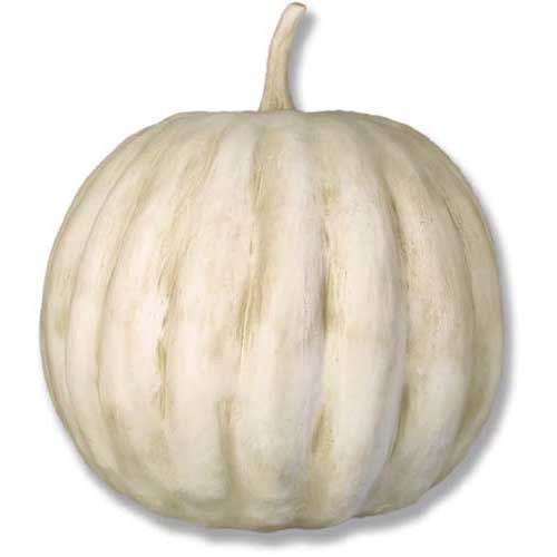 Large Faux Stone Pumpkin