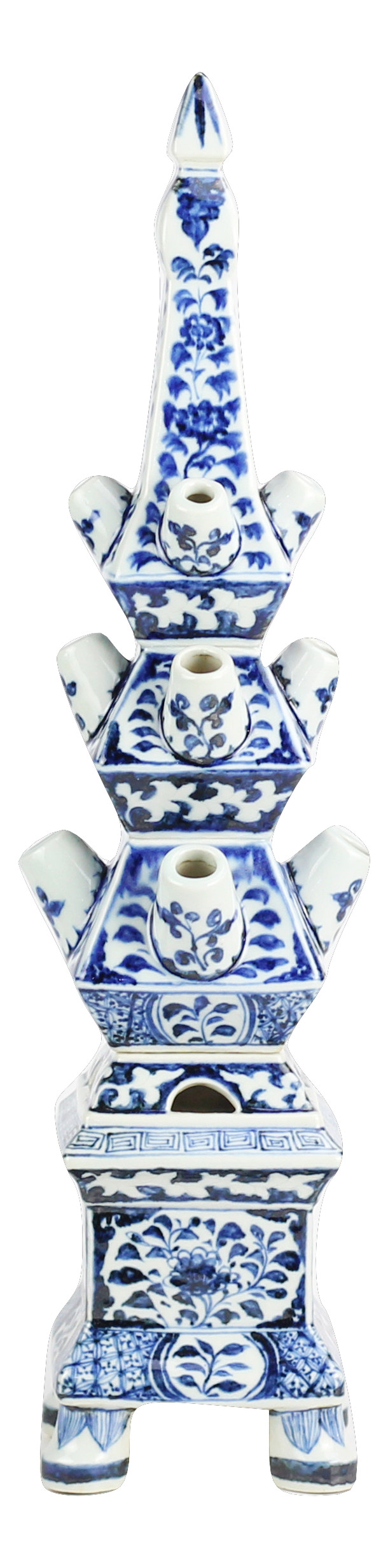 Fabulous blue and white med tulipieres