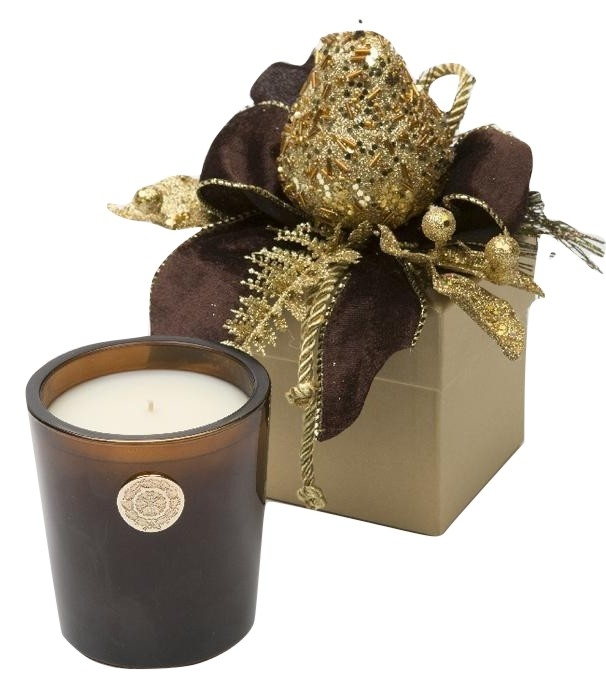 Gorgeous Lux golden pear fall candle