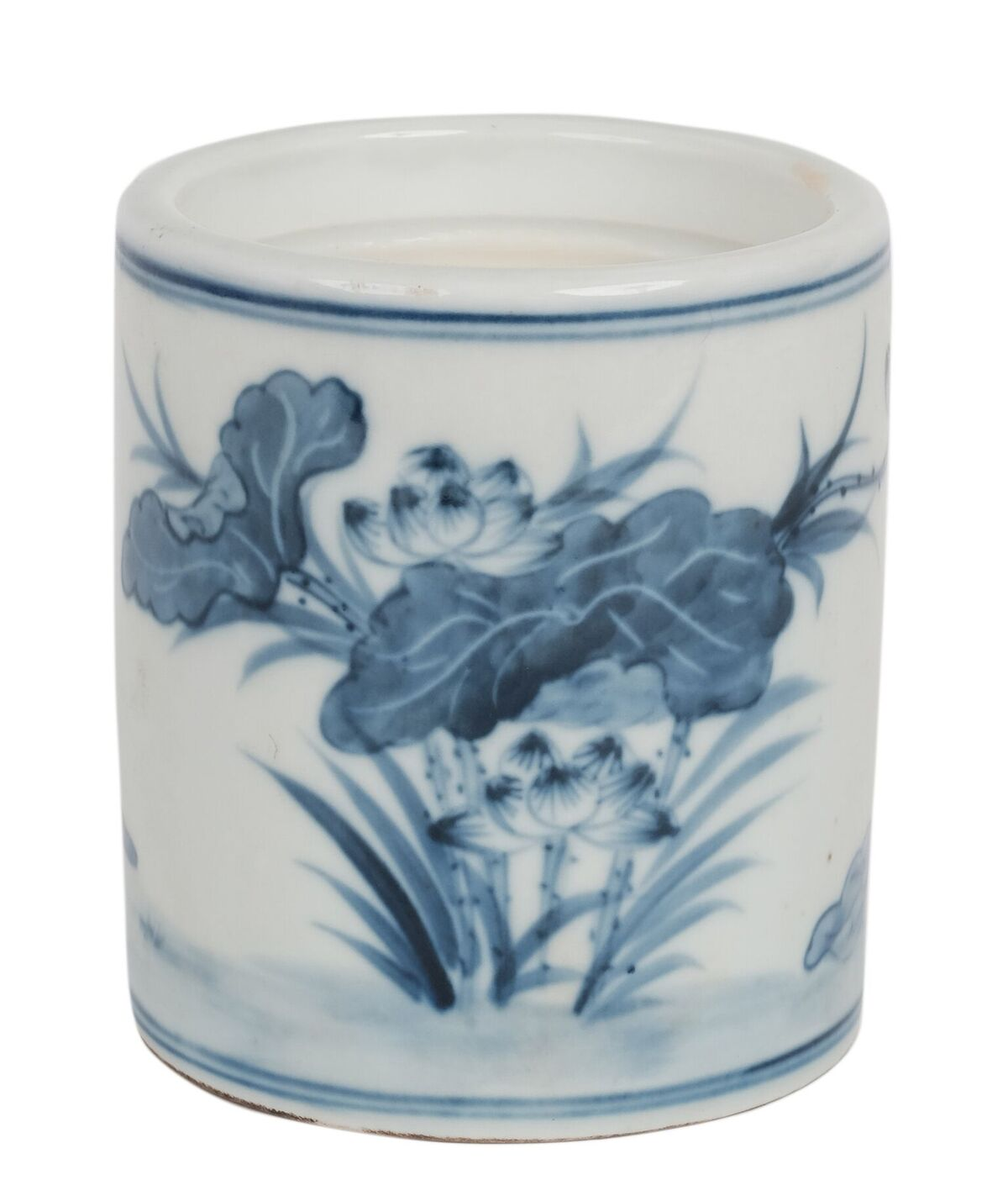 Fabulous lotus flower candle with hydrangea scent
