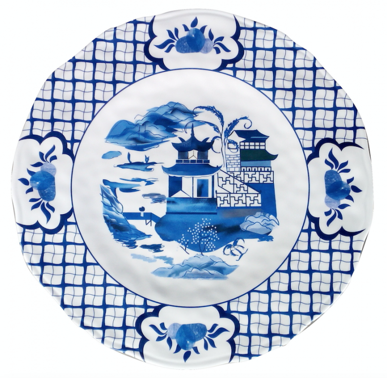 Fabulous chinoiserie blue and white melamine dinnerware (Starting at $30)  sc 1 st  The Enchanted Home & Fabulous chinoiserie blue and white melamine dinnerware (Starting at ...