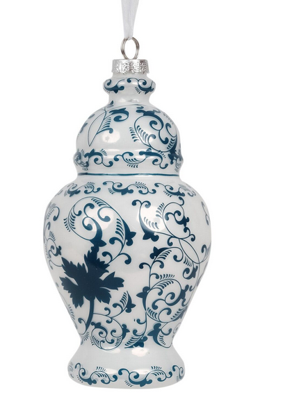 New! Fabulous new large floral ginger jar