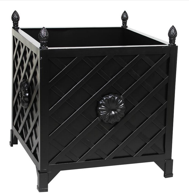 NEW! BLACKTRELLIS/FLORA PROVENCE PLANTER