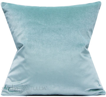 NEW! Incredible all over cotton velvet pool pillow