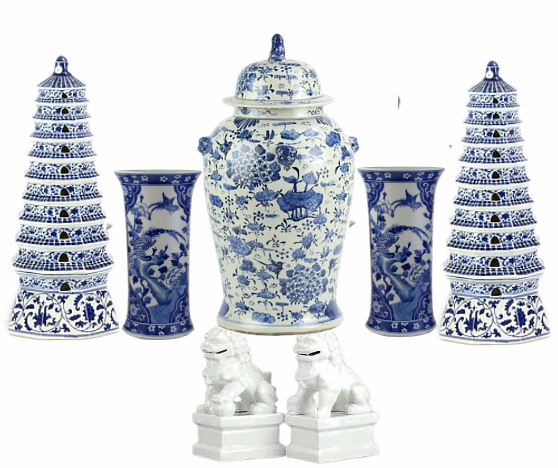 NEW! Set #12 Fabulous 8 piece beginners porcelain set