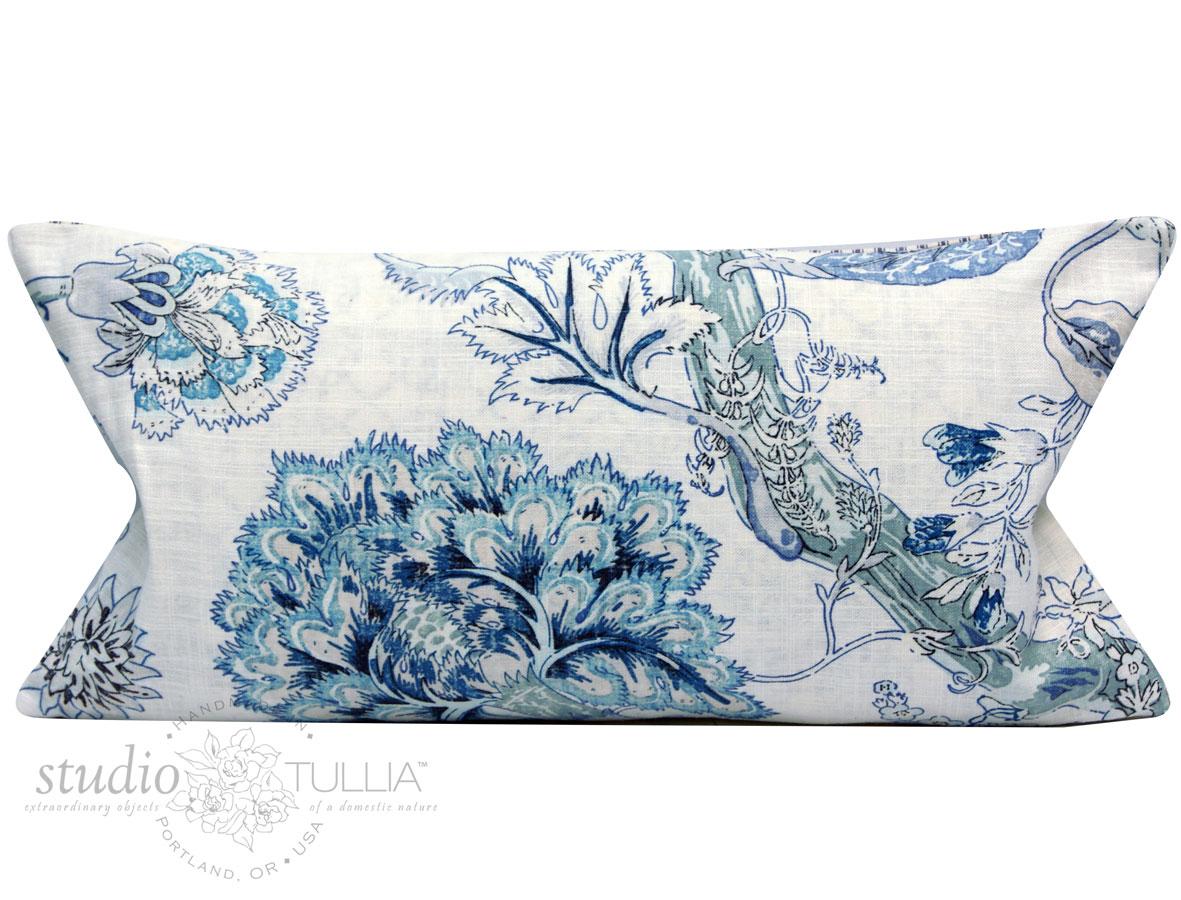 NEW! Incredible all over handblocked print Vecchio lumbar pillow