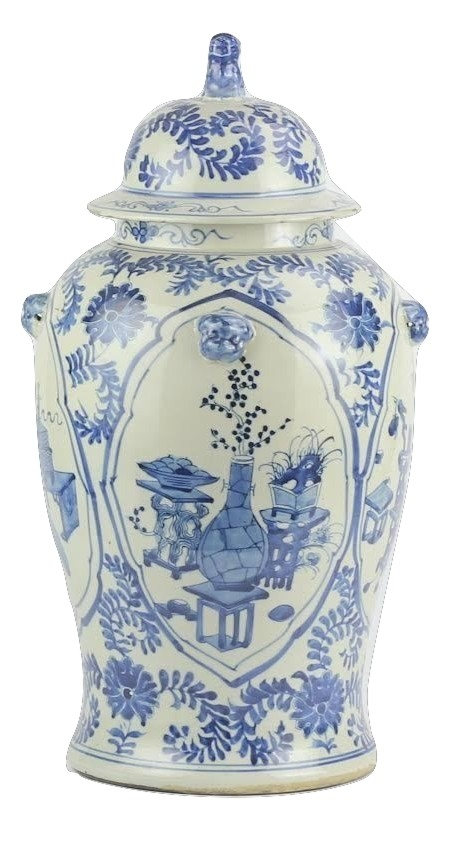 Stunning new trellis and floral ginger jar